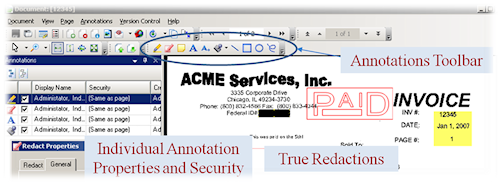 annotation, properties, securities